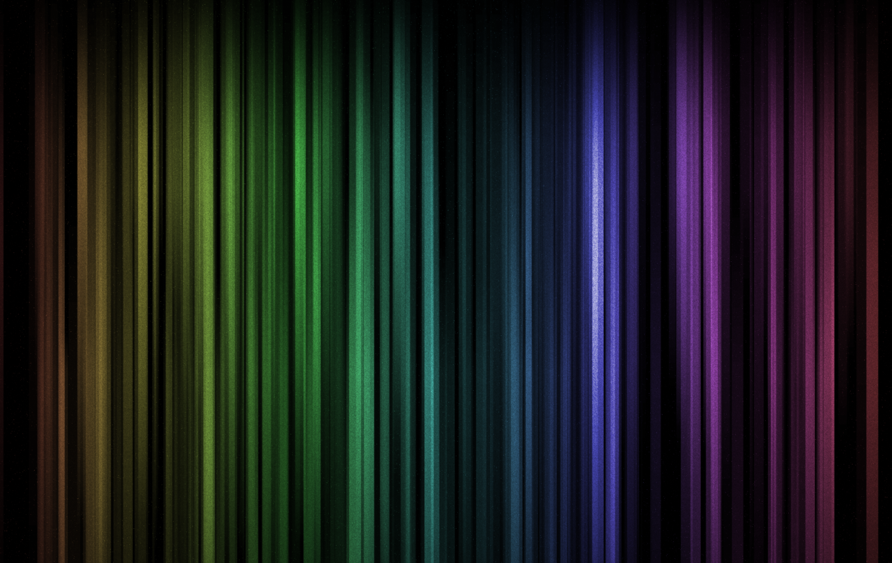 Working on a totally unrelated project, I made this image which ended up not being used, but turned out to be a great desktop background. Full-res download of Space Rainbow.