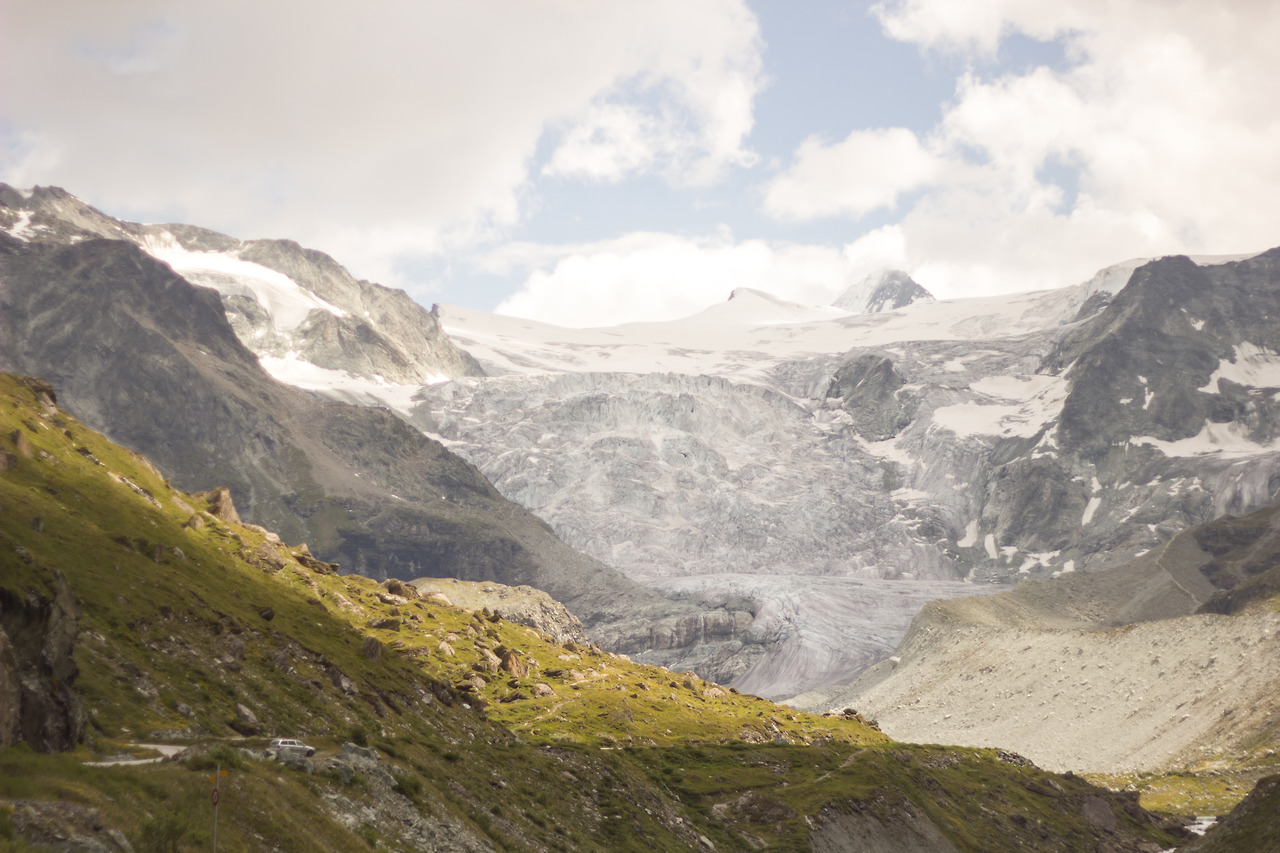 The Moiry Glacier, Grimentz, Switzerland.